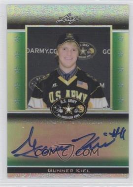 2012 Leaf Metal Draft - Army All-American Bowl - Green Prismatic #ATA-GK1 - Gunner Kiel /25