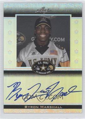 2012 Leaf Metal Draft - Army All-American Bowl #ATA-BM1 - Byron Marshall /50