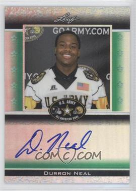 2012 Leaf Metal Draft [???] #ATA-1 - Durron Neal /25