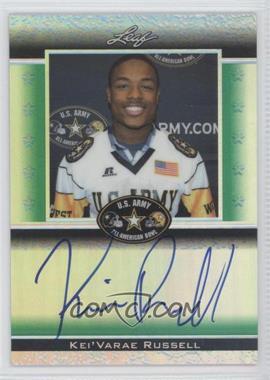 2012 Leaf Metal Draft [???] #ATA-1 - Kevin Rutland /25