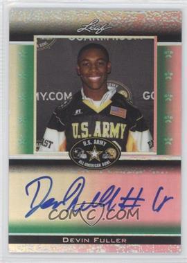 2012 Leaf Metal Draft Army All-American Bowl Green Prismatic #ATA-DF1 - Devin Fuller /25