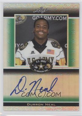 2012 Leaf Metal Draft Army All-American Bowl Green Prismatic #ATA-DN1 - Durron Neal /25