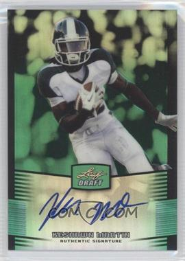 2012 Leaf Metal Draft Green #KM2 - [Missing] /10