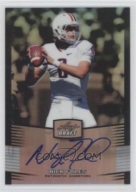 2012 Leaf Metal Draft Silver #NF1 - [Missing] /99
