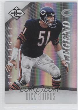 2012 Limited - [Base] - Spotlight Silver #122 - Dick Butkus /49