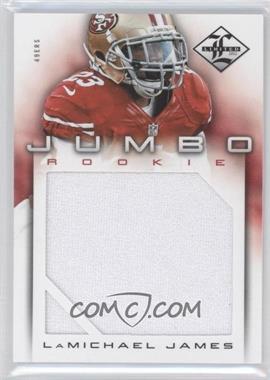 2012 Limited - Rookie Jumbo Materials #19 - LaMichael James /99