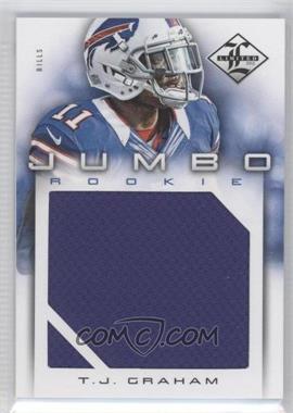 2012 Limited - Rookie Jumbo Materials #31 - T.J. Graham /99