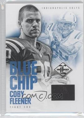 2012 Limited Blue Chip Materials Shoes #21 - Coby Fleener /49