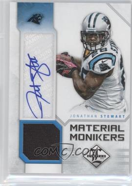 2012 Limited Material Monikers #34 - Jonathan Stewart /25
