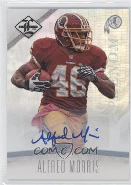 2012 Limited Monikers Silver [Autographed] #152 - Alfred Morris /299