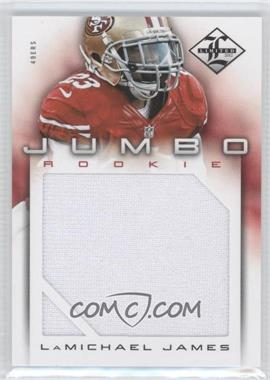 2012 Limited Rookie Jumbo Materials #19 - LaMichael James /99