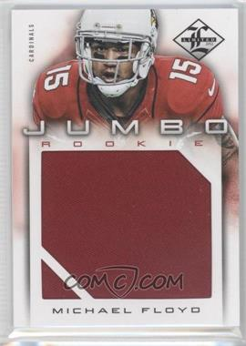 2012 Limited Rookie Jumbo Materials #8 - Michael Floyd /99