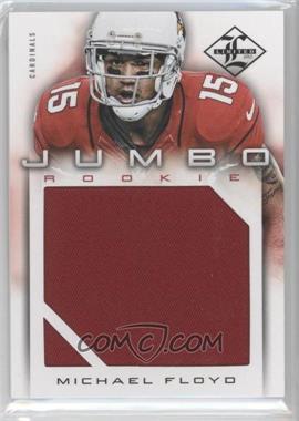 2012 Limited Rookie Jumbo Materials #8 - Michael Floyd /99