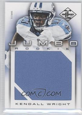 2012 Limited Rookie Jumbo Materials #9 - Kendall Wright /99