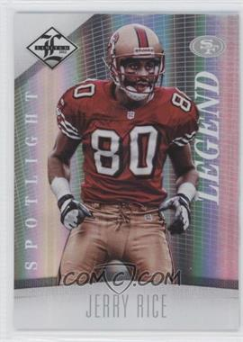 2012 Limited Spotlight Silver #107 - Jerry Rice /49
