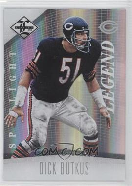2012 Limited Spotlight Silver #122 - Dick Butkus /49