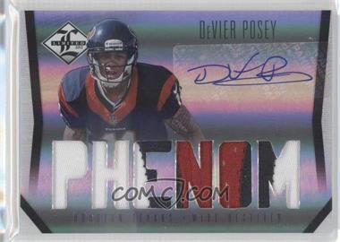2012 Limited #233 - DeVier Posey /299