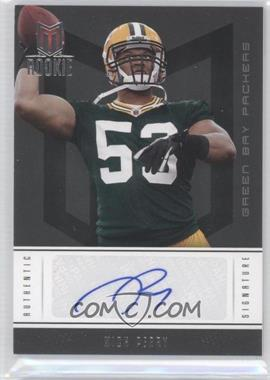 2012 Momentum - [Base] #184 - Rookie Signature - Nick Perry /399