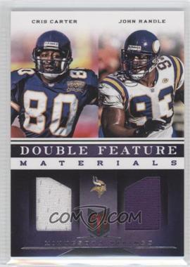 2012 Momentum - Double Feature Materials #20 - Cris Carter, John Randle /149