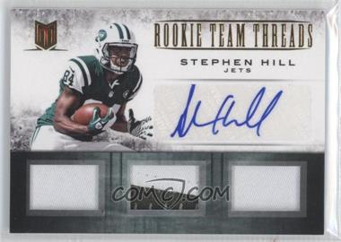 2012 Momentum - Rookie Team Threads Materials - Triple Prime Signatures [Autographed] #33 - Stephen Hill /10