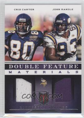 2012 Momentum Double Feature Materials #20 - Cris Carter, John Randle /149