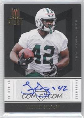 2012 Momentum Gold #194 - Rookie Signature - Terrance Ganaway /49