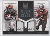 Doug Martin, Trent Richardson /49