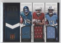 Justin Blackmon, Kendall Wright, Michael Floyd /99