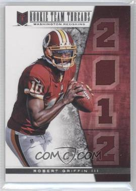 2012 Momentum Rookie Team Threads Materials Quad #2 - Robert Griffin III /49