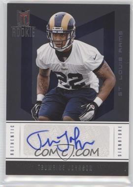 2012 Momentum #232 - Rookie Signature - Trumaine Johnson /799
