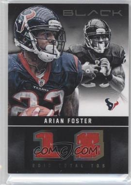 2012 Panini Black - Stat Line Materials #27 - Arian Foster /99