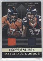 Ed McCaffrey, Eric Decker /50