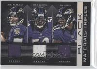 Ray Lewis, Ray Rice, Joe Flacco /50