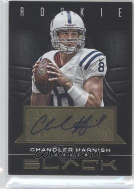 2012 Panini Black Rookie Gold Signatures [Autographed] #115 - Chandler Harnish /99