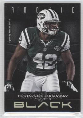 2012 Panini Black #190 - Terrance Ganaway /349