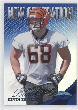 2012 Panini Certified - [Base] - Mirror Blue #281 - Kevin Zeitler /100