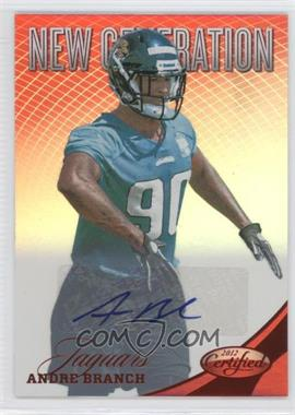 2012 Panini Certified - [Base] - Mirror Red Signatures [Autographed] #252 - Andre Branch /250