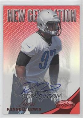 2012 Panini Certified - [Base] - Mirror Red Signatures [Autographed] #301 - Ronnell Lewis /350