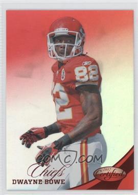 2012 Panini Certified - [Base] - Mirror Red #66 - Dwayne Bowe /250