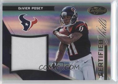 2012 Panini Certified - Certified Skills Materials - Prime #33 - DeVier Posey /49