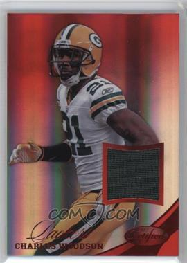 2012 Panini Certified - Materials - Mirror Red #17 - Charles Woodson /49