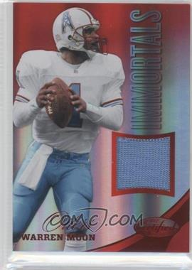 2012 Panini Certified - Materials - Mirror Red #207 - Warren Moon /199