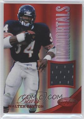 2012 Panini Certified - Materials - Mirror Red #208 - Walter Payton /199