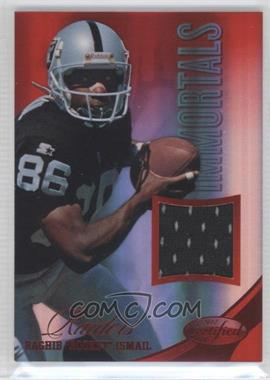 "2012 Panini Certified - Materials - Mirror Red #212 - Raghib ""Rocket"" Ismail /199"