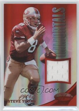 2012 Panini Certified - Materials - Mirror Red #222 - Steve Young /199