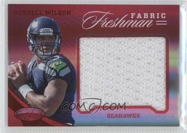 2012 Panini Certified - Materials - Mirror Red #346 - Russell Wilson /149