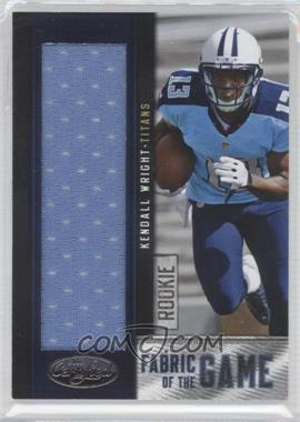 2012 Panini Certified - Rookie Fabric of the Game Jerseys #7 - Kendall Wright /199