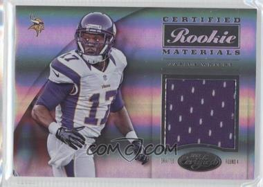 2012 Panini Certified Certified Rookie Materials #7 - Jarius Wright /299