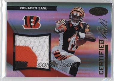 2012 Panini Certified Certified Skills Materials Prime #1 - Mohamed Sanu /49