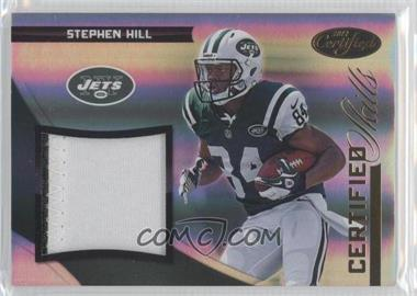 2012 Panini Certified Certified Skills Materials Prime #9 - Stephen Hill /49